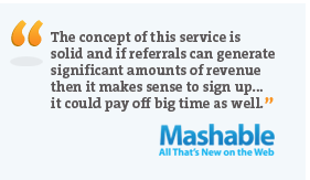 Mashable endorsement?